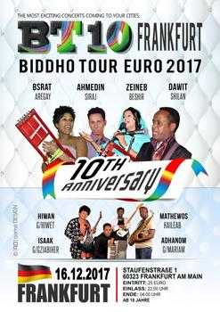 Biddho tour 2017 in frankfurt